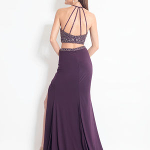 NWT Aubergine 2-Piece prom dress size 12